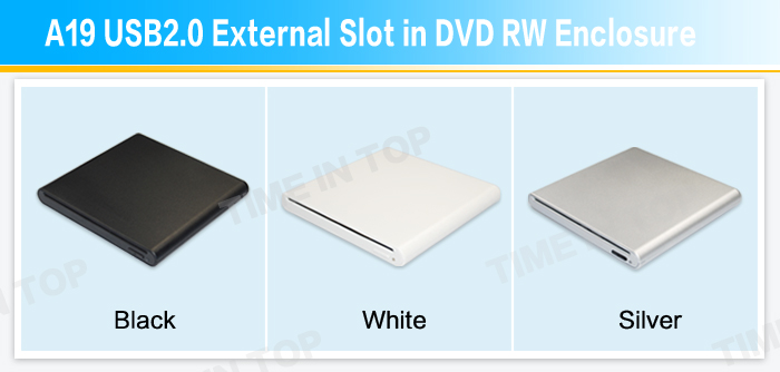 external slot in dvd rw enclosure