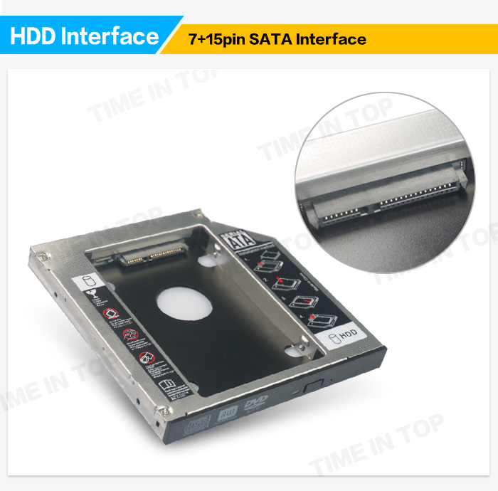 Laptop 2nd optical bay hdd enclosure
