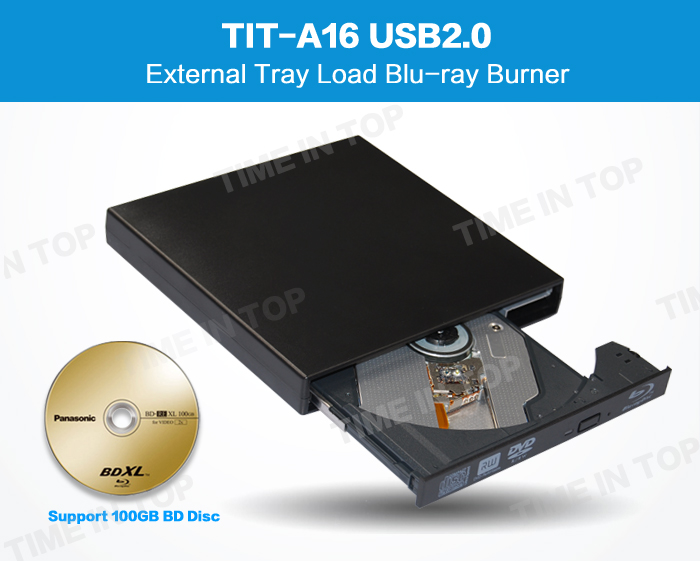 External blu ray burner