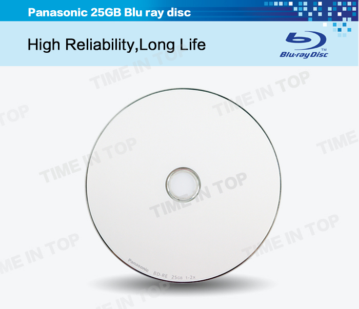 25GB BD-RE Blu ray disc