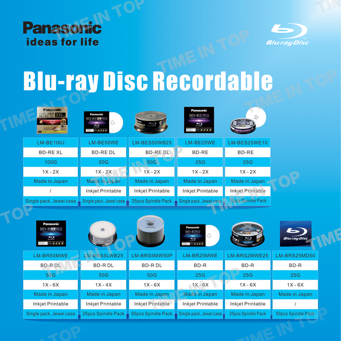 LM-BES25WE10 25GB disc