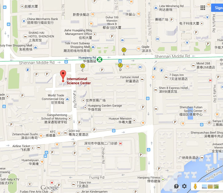 Shenzhen Time In Top Technology Co., Ltd Map