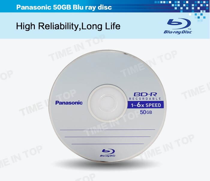 Double layer blu ray disc