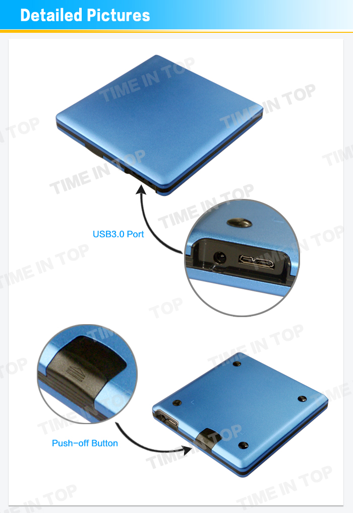 external blu ray drive cover