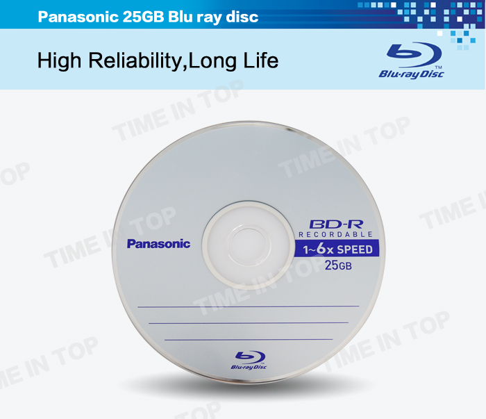 25GB 6X BD-R Disc