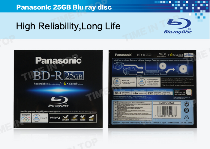 Panasonic 25GB Disc
