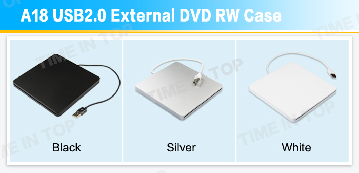 USB2.0 Blu ray Case