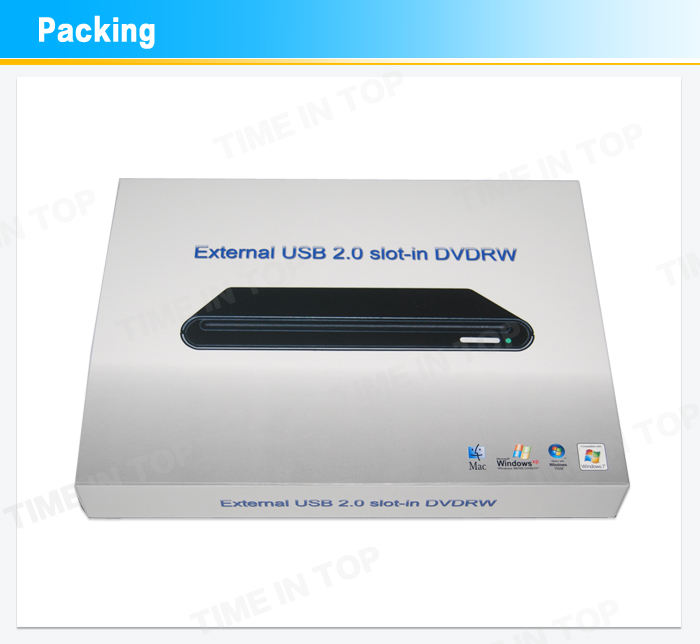 package for dvd rw enclosure