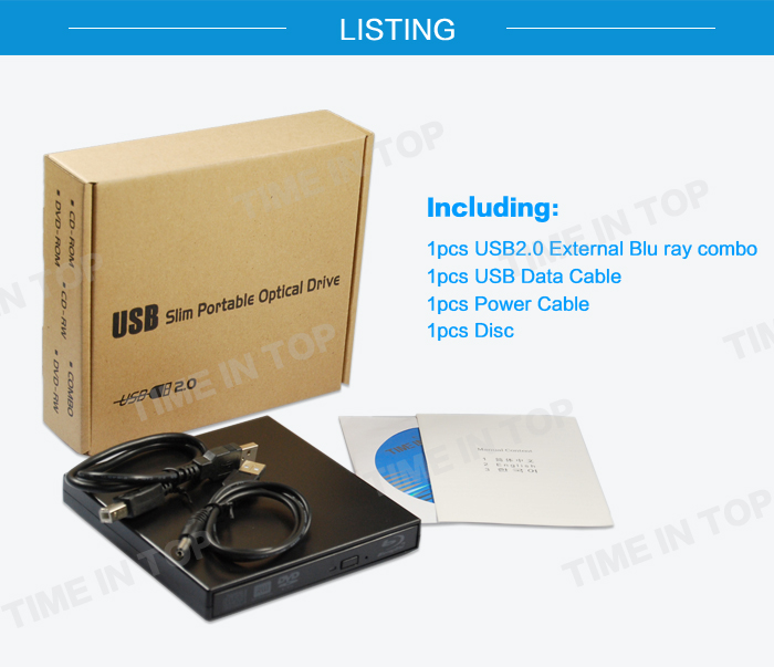 blue ray combo drive packing