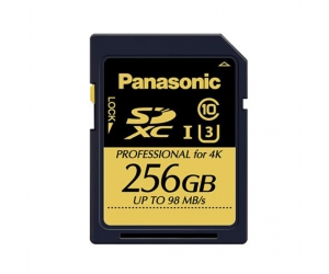 Panasonic RP-TDUC25ZX0 256G SD Card For Professional/Radio and Television Camera